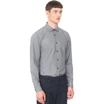 Textil Homem Camisas mangas comprida Antony Morato MMSL00548 FA430389 Azul