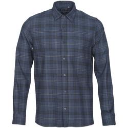 Textil Homem Camisas mangas comprida Antony Morato MMSL00551 FA410123 Azul