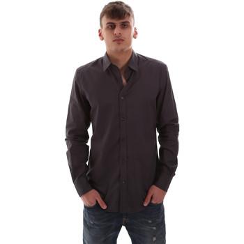 Textil Homem Camisas mangas comprida Antony Morato MMSL00574 FA430403 Cinzento