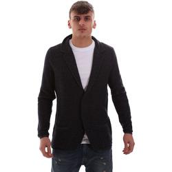 Textil Homem Casacos de malha Antony Morato MMSW00949 YA200061 Azul