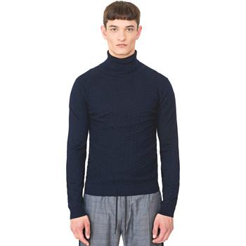 Textil Homem camisolas Antony Morato MMSW00977 YA200055 Azul