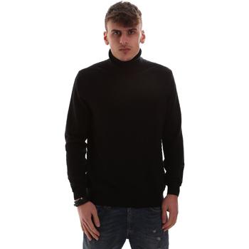 Textil Homem camisolas Antony Morato MMSW00977 YA200055 Preto