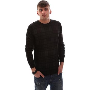 Textil Homem camisolas Antony Morato MMSW00985 YA400006 Preto