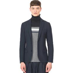 Textil Homem Casacos/Blazers Antony Morato MMJA00407 FA100130 Azul
