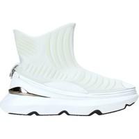 Sapatos Homem Sapatilhas de cano-alto Ea7 Emporio Armani X8Z019 XK121 Branco