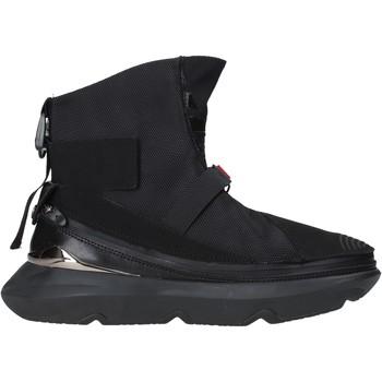 Sapatos Homem Sapatilhas de cano-alto Ea7 Emporio Armani X8Z020 XK123 Preto