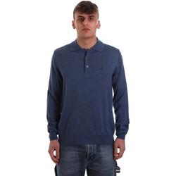 Textil Homem Polos mangas compridas Navigare NV11006 40 Azul