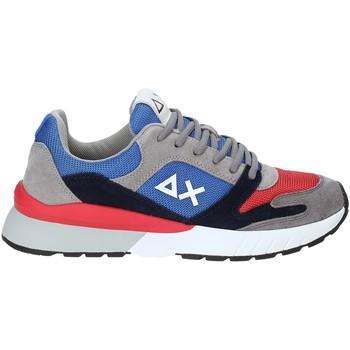 Sapatos Homem Sapatilhas Sun68 Z29116 Azul