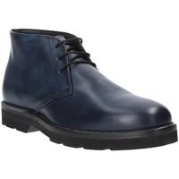 Sapatos Homem Botas baixas Exton 44 Azul