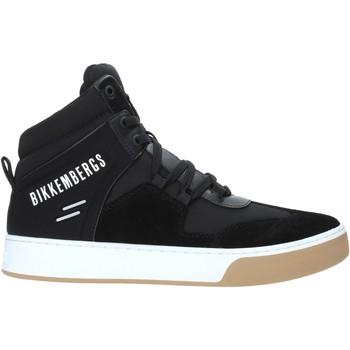 Sapatos Homem Sapatilhas de cano-alto Bikkembergs B4BKM0038 Preto