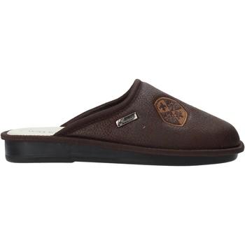 Sapatos Homem Chinelos Susimoda 5804 Castanho