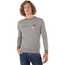 Textil Homem camisolas La Martina OMS315 YW025 Cinzento