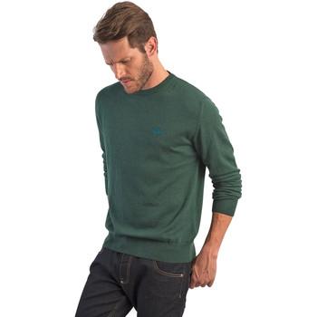 Textil Homem camisolas La Martina OMS005 YW020 Verde