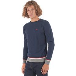Textil Homem camisolas La Martina OMS021 YW025 Azul