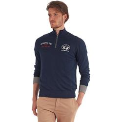Textil Homem camisolas La Martina OMS317 YW025 Azul