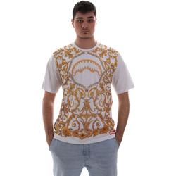 Textil Homem T-Shirt mangas curtas Sprayground SP019S Branco