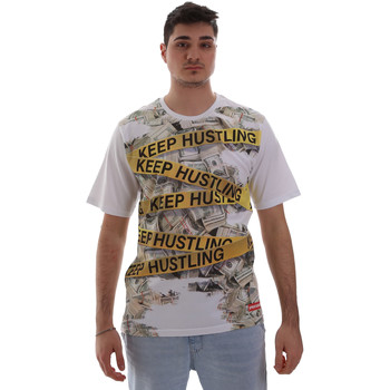 Textil Homem T-Shirt mangas curtas Sprayground SP017S Branco
