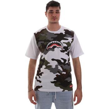 Textil Homem T-Shirt mangas curtas Sprayground SP023S Branco