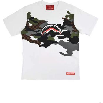 Textil Homem T-Shirt mangas curtas Sprayground SP022S Branco