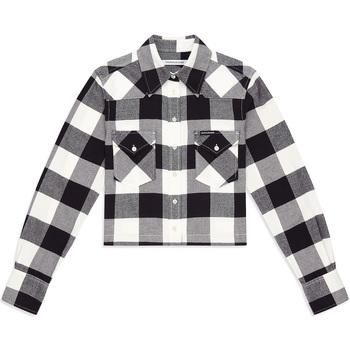 Textil Mulher camisas Calvin Klein Jeans J20J212123 Preto