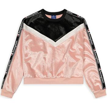 Textil Mulher Sweats Champion 112276 Rosa