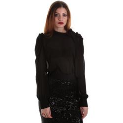 Textil Mulher Tops / Blusas Denny Rose 921ND45001 Preto