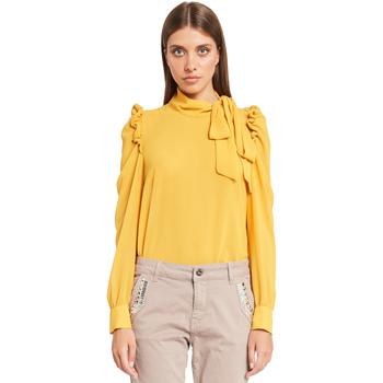 Textil Mulher Tops / Blusas Denny Rose 921ND45001 Amarelo