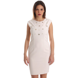 Textil Mulher Vestidos curtos Gaudi 921FD15004 Bege
