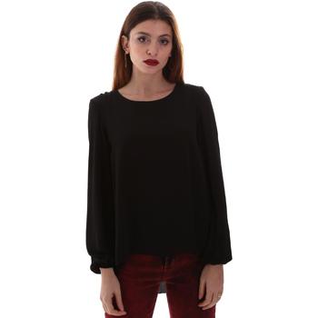 Textil Mulher camisas Gaudi 921BD45023 Preto