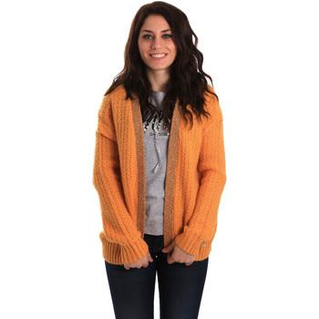 Textil Mulher Casacos de malha Gaudi 921BD53041 Amarelo