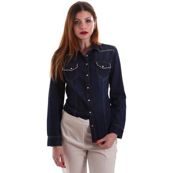 Textil Mulher camisas Gaudi 921BD46001 Azul