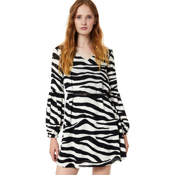 Textil Mulher Vestidos curtos Liu Jo W69063 T5630 Preto
