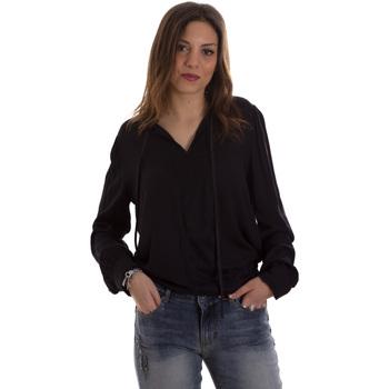Textil Mulher camisas Liu Jo F69053 T4090 Preto