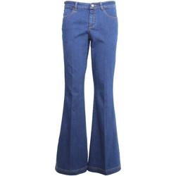 Textil Mulher Calças de ganga bootcut NeroGiardini A960660D Azul