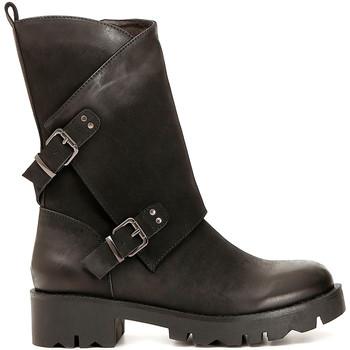 Sapatos Mulher Botas Café Noir FE954 Preto