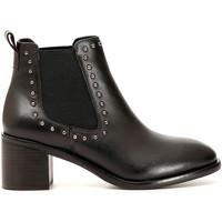 Sapatos Mulher Botins Café Noir GE144 Preto