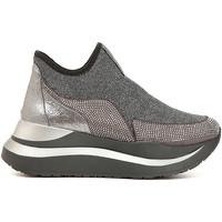 Sapatos Mulher Slip on Café Noir DC985 Cinzento