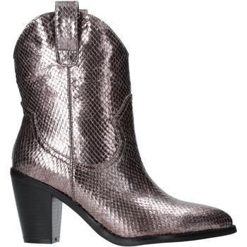Sapatos Mulher Botins Gold&gold B19 GU22 Cinzento