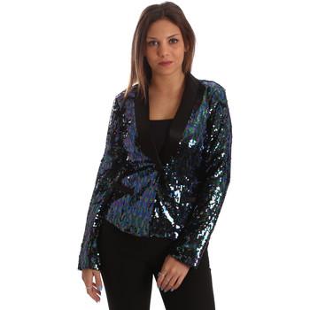 Textil Mulher Casacos/Blazers Fracomina FR19FP622 Preto