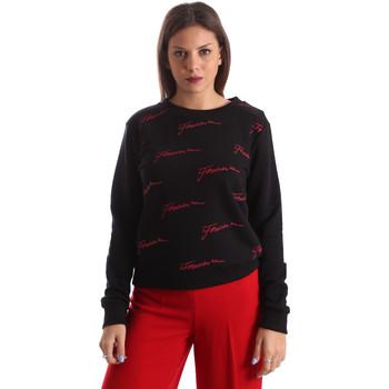 Textil Mulher Sweats Fracomina FR19FP961 Preto