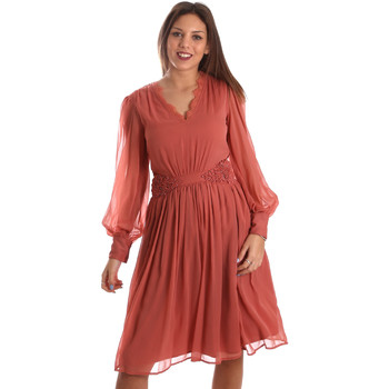 Textil Mulher Vestidos curtos Fracomina FR19FMREMI Rosa