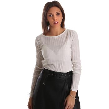 Textil Mulher camisolas Fracomina FR19FMGEORGIE Branco