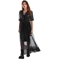 Textil Mulher Vestidos compridos Fracomina FR19FM567 Preto