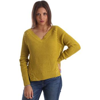 Textil Mulher camisolas Fracomina FR19FM836 Amarelo