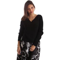 Textil Mulher camisolas Fracomina FR19FM836 Preto