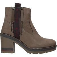 Sapatos Mulher Botins Wrangler WL92600A Cinzento
