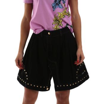 Textil Mulher Saias Versace A9HUB301APD3W899 Preto