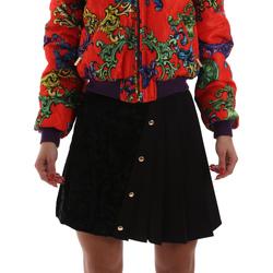 Textil Mulher Saias Versace A9HUB30505487899 Preto
