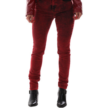 Textil Mulher Calças de ganga Versace A1HUB0Y0APW48537 Vermelho