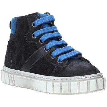 Sapatos Criança Sapatilhas de cano-alto Nero Giardini A923700M Azul